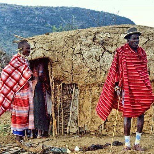 Masai Mara people, Kenya