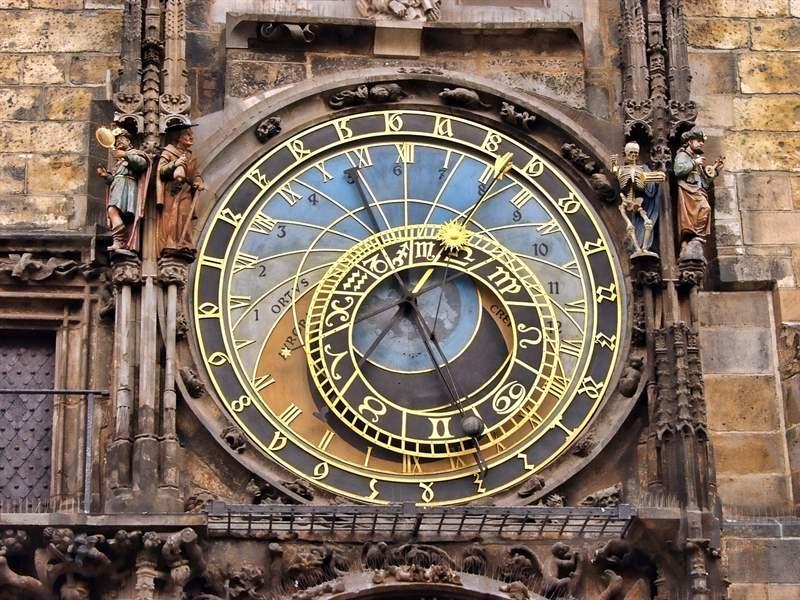 Astronomical clock of Prague, Czech Republic