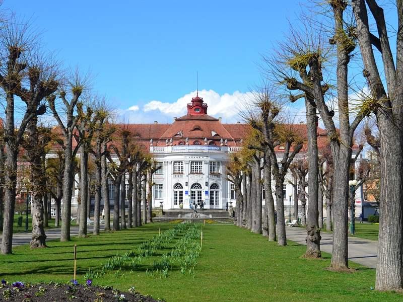 Elizabeth Baths in Karlovy Vary Czech republic