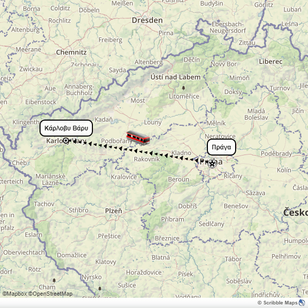 Prague Karlovy Vary itinerary