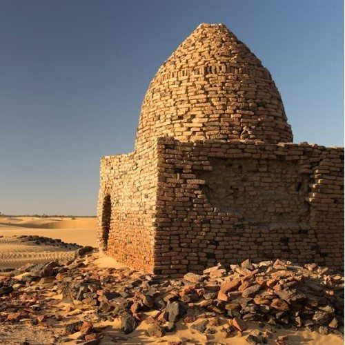 Old Dongola is a deserted town in Sudan located on the east bank of the Nile