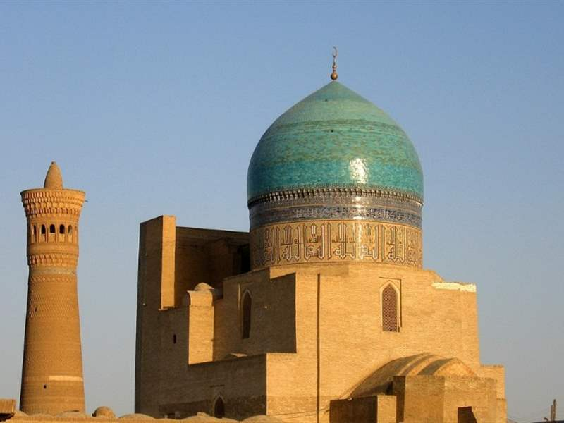 Bukhara, one of the great trading cities along the Silk Road
