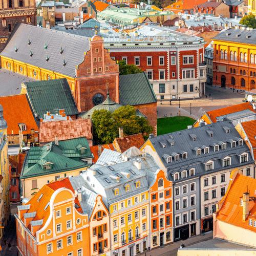 Λετονία-Ρίγα-πόλη